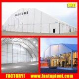 Tenda poligonale del Corridoio del Tradeshow di stile europeo tedesco con la parete di vetro