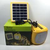 indicatore luminoso di campeggio solare portatile di 6V Ebst-D08d per lo sport esterno