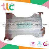 Cuidar el pañal disponible del bebé en exceso de la película del PE de la fábrica de Fujian del fabricante