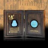 Tipo Libri Mostra la scatola di legno