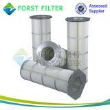 Filtro dalla cartuccia della polvere dell'aria del rivestimento della polvere di Forst Gema