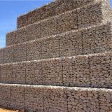 La exportación popular de China cubre con cinc pesadamente la pared soldada con autógena revestida de Gabion