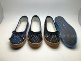 Ботинки холстины способа для женщин (MST161086)