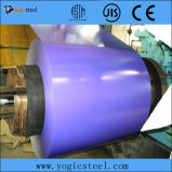 G550 a enduit la bobine d'une première couche de peinture en acier enduite par couleur en acier galvanisée de bobine