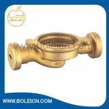 Pieza natural de cobre amarillo de la bomba de la cubierta de la bomba de la agua en circulación del color de la forja