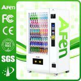 Máquina expendedora automática del bocado caliente de las ventas con el sistema de gestión Backend
