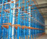 Depósito de almacenamiento en rack paleta de arrastre en Trasiego