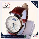 2017人の女性のブレスレットの革腕時計の水晶腕時計(DC-2032)