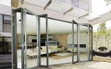 Porte en verre et alliage en aluminium/d'aluminium