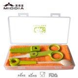 Baby di ceramica Goods per Spoon e Food Scissors Set