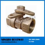 Bronzesperrenkugelventil-direkte Fabrik (BW-L12)