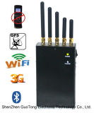 Мобильный телефон WiFi Bluetooth GPS Signal Jammer Blocker WiFi GPS Jammer 5bands Handheld Jammer All Frequency Jammer 2g 3G GSM CDMA сигнала