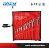 ANSI 12PS (6-32mm) Set Matt Verchroomde Ring Spanner