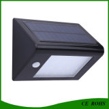 Mini Brillo Solar LED de pared Montado iluminaciones LED Solar Luz de escalera