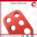 Ingestión de acero roja del cerrojo con la carrocería de nylon para el candado de la seguridad