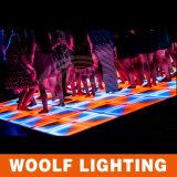DMX512 판매를 위한 휴대용 RGB LED 댄스 플로워