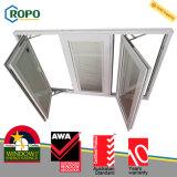 Ventana de cristal del bloqueo de la seguridad 3 del panel del marco triple de múltiples puntos del PVC
