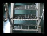 Passos de escada de fixação aparafusados T2