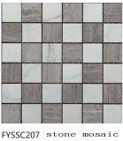 Плитка пола смешанной мозаики камня строительного материала цвета Polished (FYSSC207)