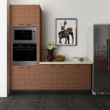 Melamina personalizada elegante de Oppein e de cozinha de HPL gabinetes (OP14-M05)
