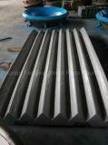 Hohe Mangan-Stahlbacke-Platten-Kiefer-Zerkleinerungsmaschine-Platte