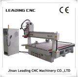 Maquinaria del CNC de la carpintería del cambiador de la herramienta del automóvil de la velocidad los 5*10FT