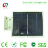 8W indicatore luminoso della parete del sensore solare LED per illuminazione dell'iarda del giardino