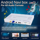 Touch Navigation, Live Navigation, 2 USB를 가진 Jvc Display를 위한 차 Android Navigation Box Ports