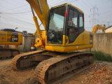 El excavador usado de la correa eslabonada de KOMATSU PC160-7, Japón hizo