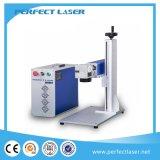 Borne portative de laser de fibre en métal/acier inoxydable mini avec l'homologation de la CE