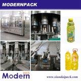 Linha de produção automática de enchimento de bebidas 4 em 1
