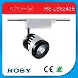 No-Oscila el proyector ajustable de la luz LED de la pista de la MAZORCA del diseño 12W