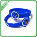 La fabbrica direttamente ha personalizzato il braccialetto del silicone di marchio stampato Wristband del silicone di Fshion