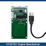 13.56MHz USB Spiが付いている手段のアクセス制御システムのための人間の特徴をもつRFIDの読取装置のモジュール