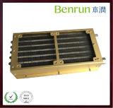 Evaporador de aluminio de la aleta del tubo de cobre para la refrigeración