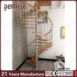 별장 (DMS-1001)를 위한 실내 나선형 층계 목제 디자인