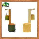 Potenciômetro Succulent da planta do Flowerpot/de bambu creativo