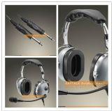 Шум отменяя шлемофон авиации халявы уха для двухстороннего Рейдио