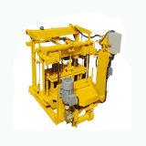 이동할 수 있는 구체적인 벽돌 만들기 기계, 기계를 만드는 작은 계란 놓기 구획