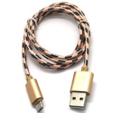Android Phone Samsung iPhone 6을%s 마이크로 USB Braid Charging Cable