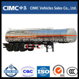 Cimc 3車軸40m3石油タンカー/半燃料のタンカーのトレーラー