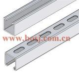 製造Cの生産機械マレーシアを形作る鋼鉄支柱チャネルロールの後の粉のコーティング
