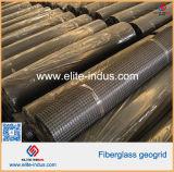 100kn/M 50kn/M Fiberglass Glassfiber Geogrid