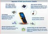 El diseño rugoso de contador del gas de la electricidad del agua de Jepower Ht368 de la mueca de dolor infrarroja de la lectura PDA utiliza el código de Qr