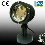 indicatore luminoso del punto del giardino di 5X3watts RGB3in1 LED con la base (JP83556)