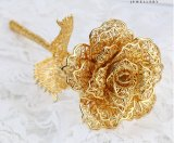 نمو هبات جيّدة لأنّ [موثر دي] [روس] زهرة في [24ك] نوع ذهب يصفح