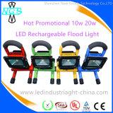 안정되어 있는 질 재충전용 옥외 LED 일 빛 플러드 빛