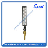 Termómetro Calibrar-Mecánico de la temperatura Termómetro-Ajustable del ángulo del vidrio