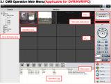 8-канальный H. 264 высокого разрешения АХД Гибридная видеонаблюдения сетевой видеорегистратор (КН-7208)