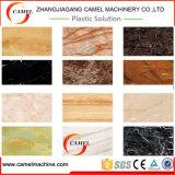 Feuille de PVC/ligne de marbre d'imitation extrusion de panneau